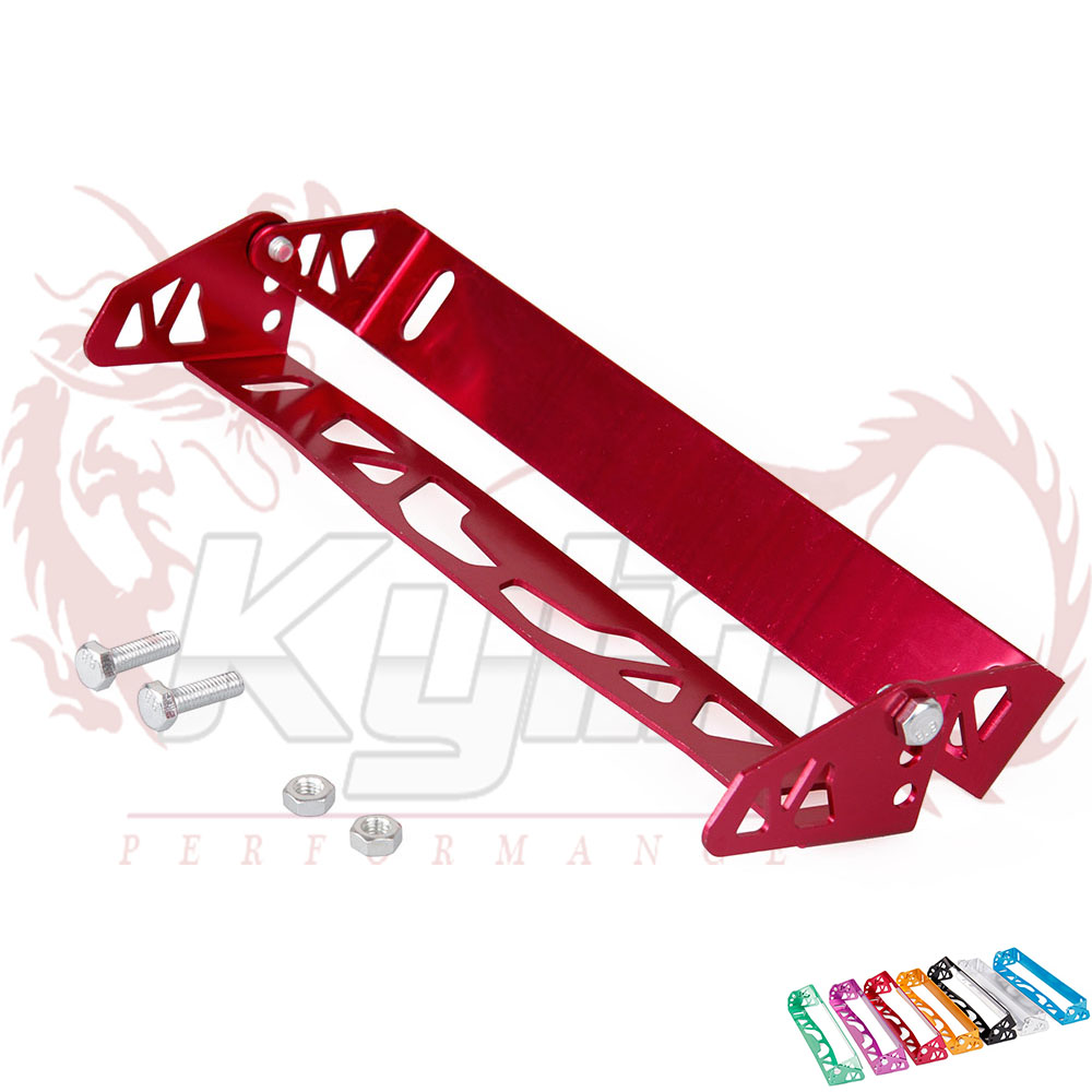 KYLIN STORE -- Free Shipping Car Styling adjustable License Plate Frame Power Racing License Plate Frames Tag Holder Universal(China (Mainland))
