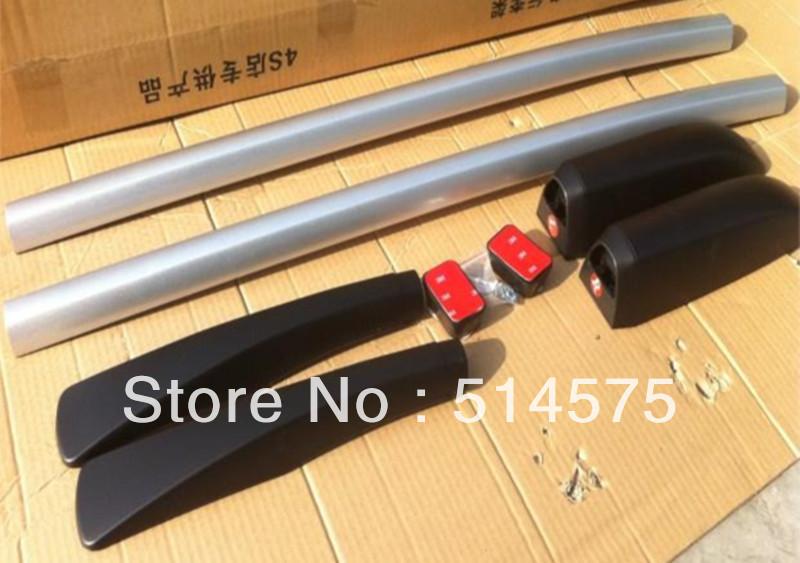 Hot! Tracking! For Nissan Qashqai 2007 2008 2009 2010 2011 2012 2013 Aluminum Roof Racks & Boxes Rails Bars OEM Style(China (Mainland))