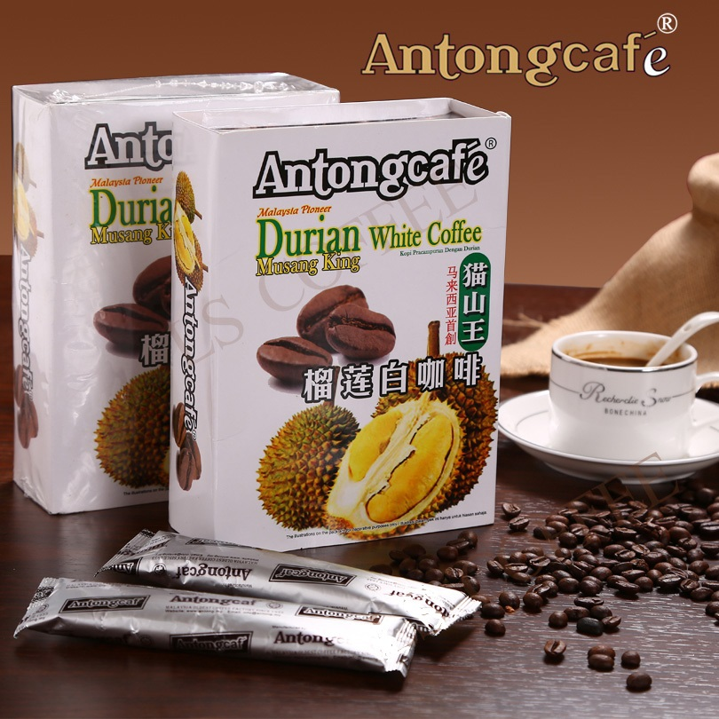 Malaysia s first Anton 3 in 1 white coffee top mountain king 400 g durian durian