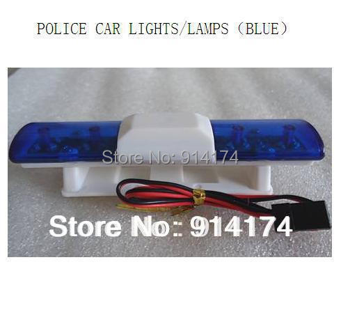 1/10 rc car parts Police car LED lights for 1/10 RC car body shell free shipping(China (Mainland))
