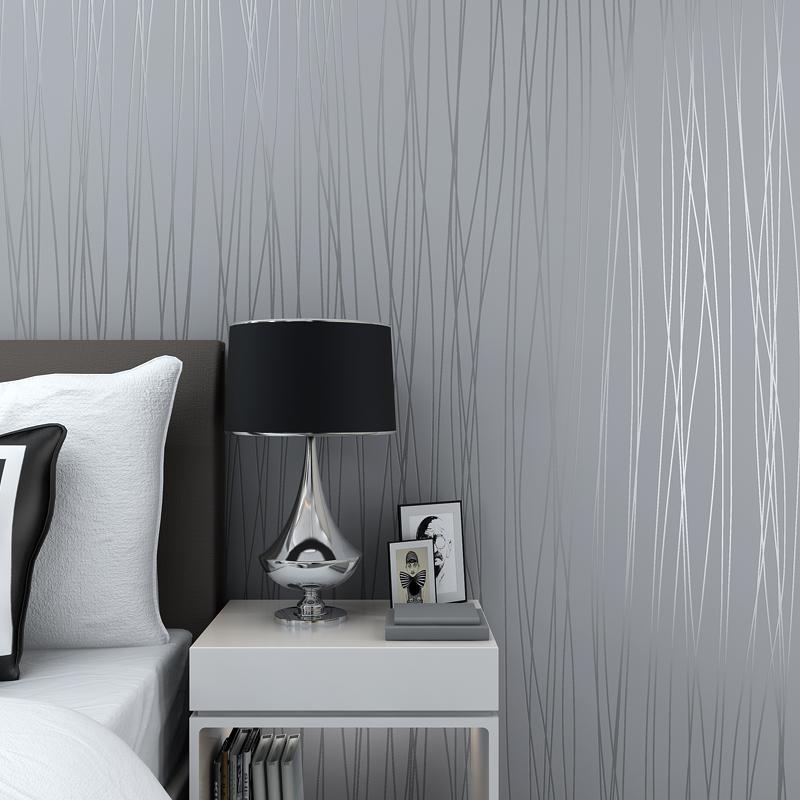 Tapeten Wohnzimmer Grau