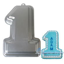 Figure shape cake decorating mould, best quality 3D aluminum baking cake pan(China (Mainland))