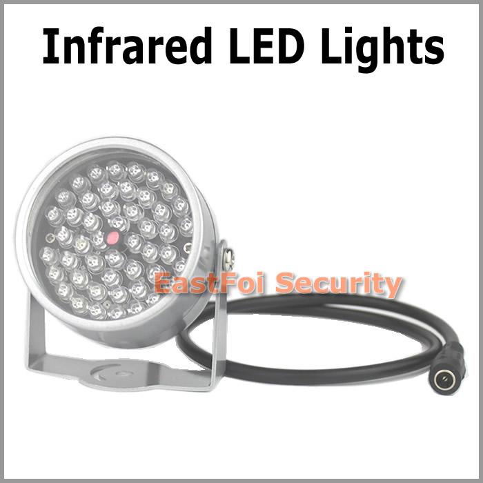 Infrared LED illuminator light for Surveillance Camera waterproof Wide Angle 48pcs IR light enhance the effect of night vision<br><br>Aliexpress