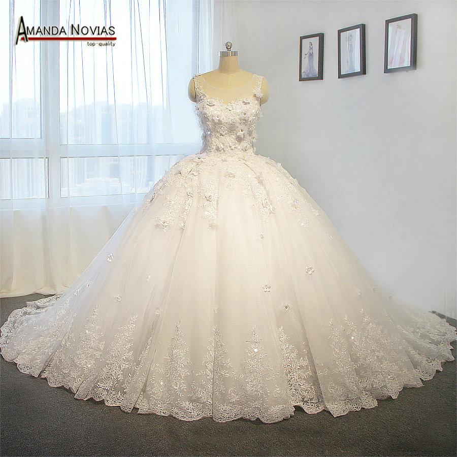 Top Luxury Wedding Dress : Aliexpress buy luxury ball gown wedding dress