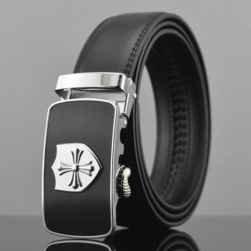2016 fashion men's genuine leather belt sports car regular buckle belts for men strap cinto masculino belt(China (Mainland))
