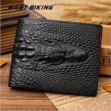 Crocodile Leather Wallet Men Wallet Male Genuine Brief Fashion Short Design Men's Wallets Cowhide wallet men Fashion Card Holder