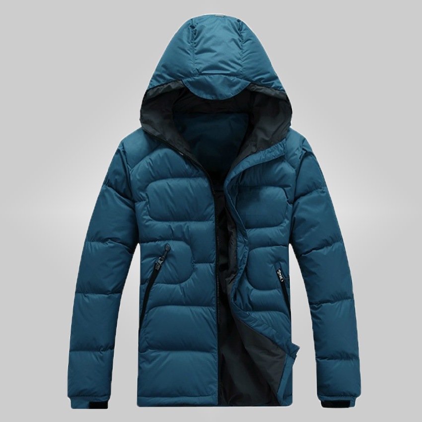 Free Shipping 2015 Classic Mens Down Coat Outdoor Wear Winter New Men's Coat Thick Warm Duck Down Jacket Men DL 120(China (Mainland))