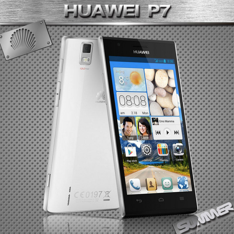 Original New Huawei Ascend P7 Cell Phones Kirin 910T Quad Core Android Smartphone 2GB RAM 16GB ROM 5.0'' 13.0MP Camera Mobile(China (Mainland))