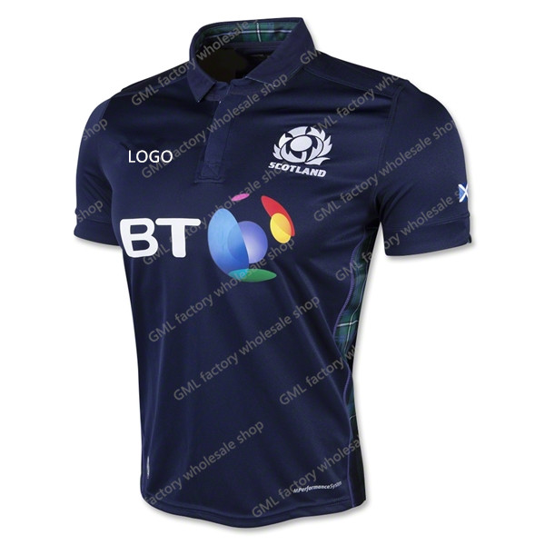 scotland home rugby jersey 2016 top class best quality kit wholesale direct in stock spot send(China (Mainland))