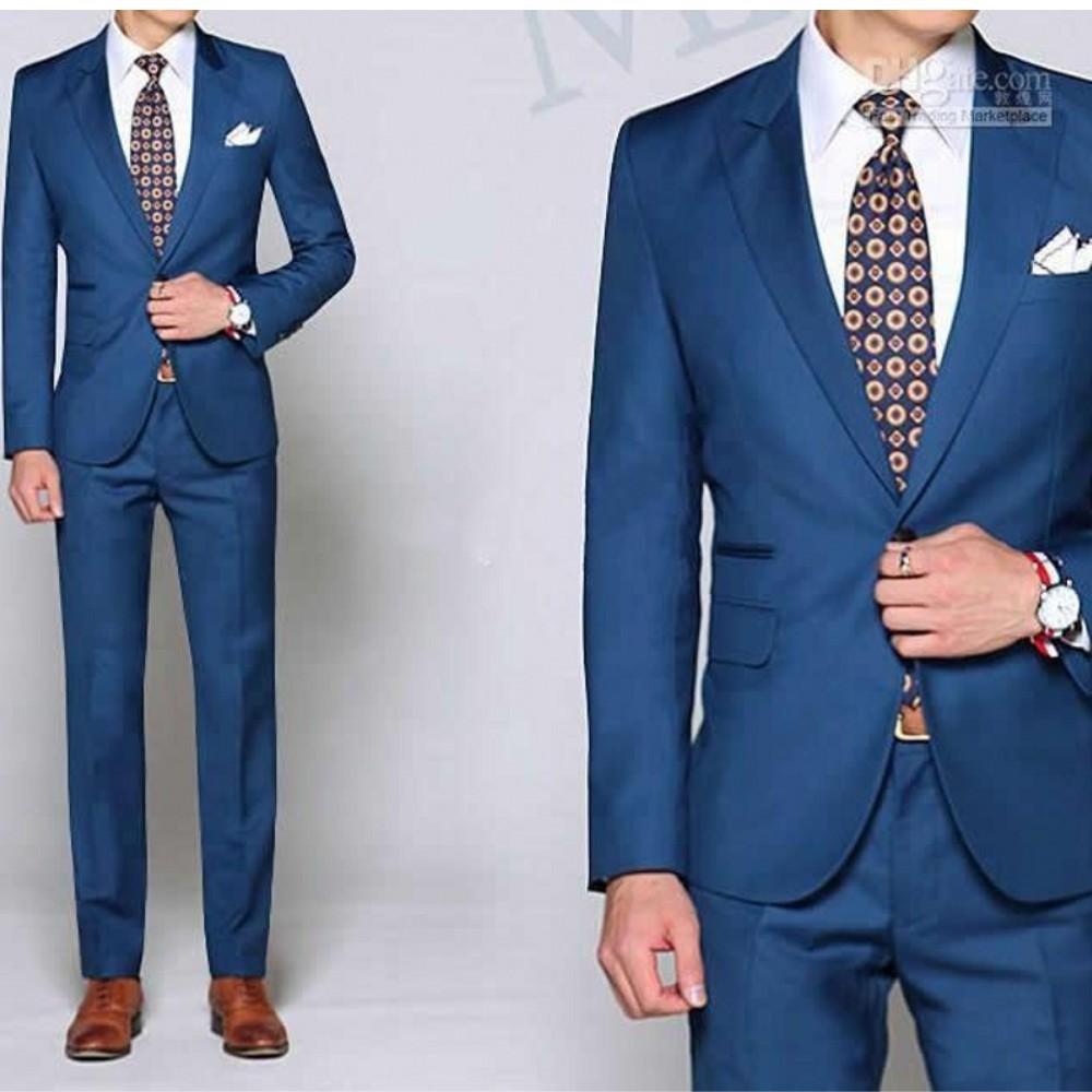 Blue Suit Cheap - Go Suits