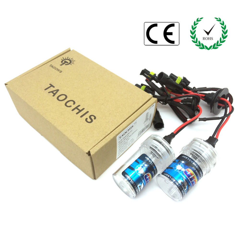 100% Original Taochis 12V 55W HID Xenon Lamps H1 Replacement Car Headlight Kit(China (Mainland))