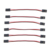 free shipping 10pcs 500mm JR Plug Servo Extension Lead For Futaba JR Lead Wire Cable RC Parts for DIY quadcopter drone Robot