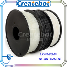 Black ,white ,transparent color 3d printer nylon filament  1.75mm 3mm PA nylon filament