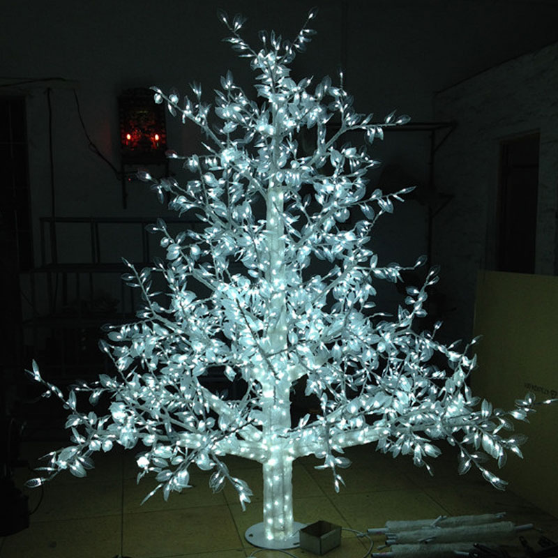 1.5Meter 864LED outdoor lighted artificial christmas trees led outdoor with lights(China (Mainland))