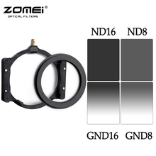 Zomei Square 100mm *150mm Neutral Density Filter Full Color Grey ND8 ND16+Gradual Grey ND8 ND16 Set For Cokin Z pro,(China (Mainland))