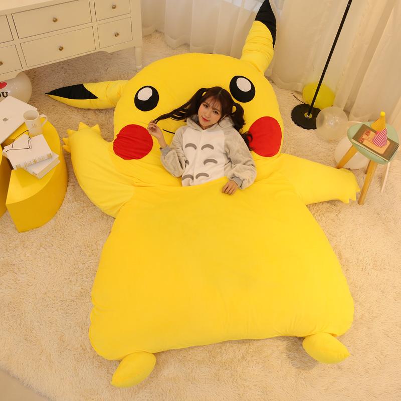 Pikachu Sleeping Bag Bed