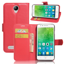 Buy 80pcs/lot free Litchi Grain wallet leather cover case stand card holder Lenovo Vibe C2 Power 5.0 inch for $172.00 in AliExpress store