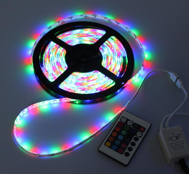 Yellow Led Strip Light: LED5050 12V White \ Red \ Yellow \ Green \ RGB Flexible