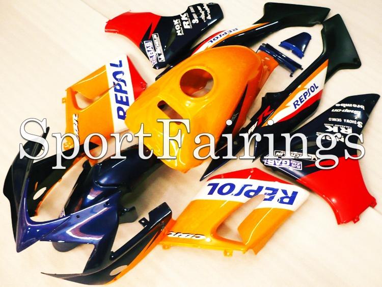 Fairings Fit Honda CBR125RR CBR125 02 03 04 05 06 2002 2003 2004 2005 2006 ABS Motorcycle Fairing Kit Bodywork Cowling Repsol(China (Mainland))