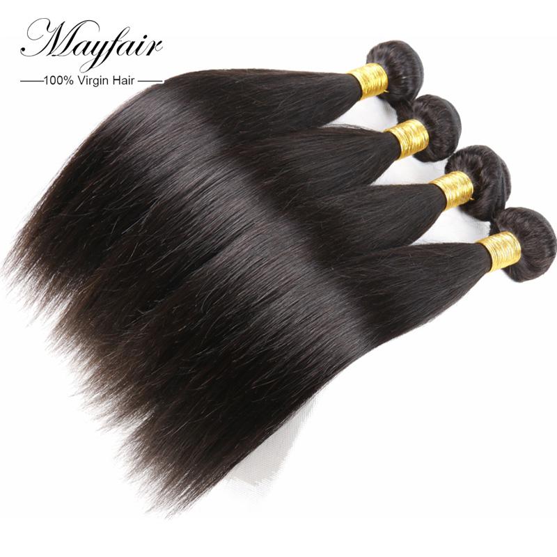 best cheap straight human hair unprocessed virgin malaysian hair extenciones de cabello soft human hair shop 4 bundles lot deal(China (Mainland))