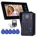7 Video Intercom Camera with Access Control System Remote Control Door Phone Doorbell Door Camera Home