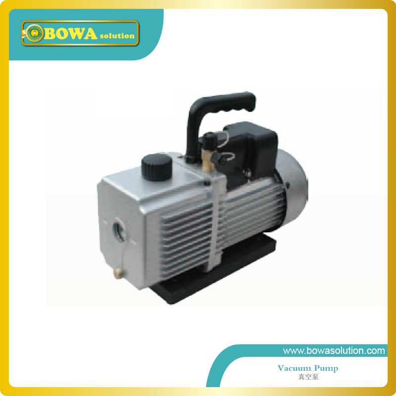 2 stages rotary van vaccuum pump designed for bottle cooler maintaining service(China (Mainland))