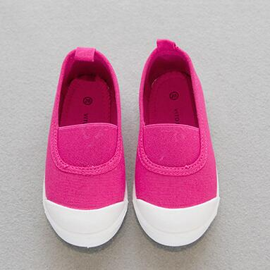 2016 Autumn Children Shoes Fashion Candy colors Canvas Shoes Kids Breathable Casual Loafers Boys Girls Flats Espadrilles 01(China (Mainland))