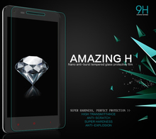 Hd Clear Glass film For Xiaomi Redmi 2 pelicula de vidro For Xiaomi Redmi 2 Tempered Glass Screen Protector in retail package