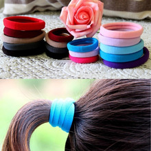 1pcs  Tie Gum for hair accessories women Candy Color Hair Holder High Quality Rubber Band Elastic Hair Bands Girl(China (Mainland))