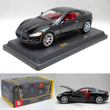 Brand New Bburago 1/24 Scale Italy Maserati Quattroporte 19cm Length Diecast Metal Car Model Toy For Gift/Collection/Kids(China (Mainland))