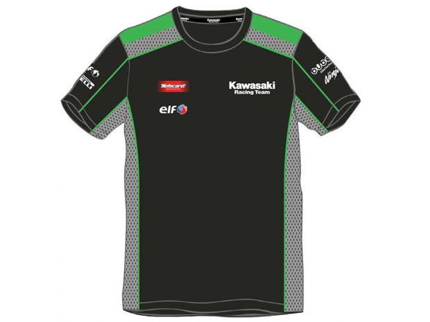 Motorcycle Clothes Wholesale MOTOGP Racing Team T-shirt Kawasaki Sports Superbikes Men's Shirt(China (Mainland))