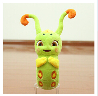 15CM 2015 new cute cartoon plush toy caterpillars toy Hot Specials kid Gifts F576(China (Mainland))