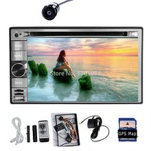 "Pure Android 4.2 Universal 6.2"" HD Double 2Din Car DVD Player GPS Navigation PC Car Stereo Radio Bluetooth+RDS+WiFi+iPod+Camera"