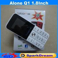 Alone Q1 Phone with Quad Band Dual SIM Card Bluetooth Flashlight MP3 MP4 FM Camera1.8 inch CheapPhone (Can add Russian Keyboard)