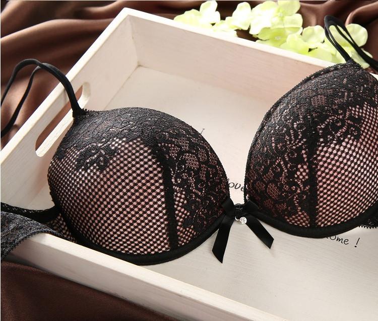 2015 новый сексуальный мода бюстгальтер против сексуальное нижнее белье женщин бюстгальтера собрались толкать вверх бюстгальтер краткий комплект, Франция бренд бюстгальтеры