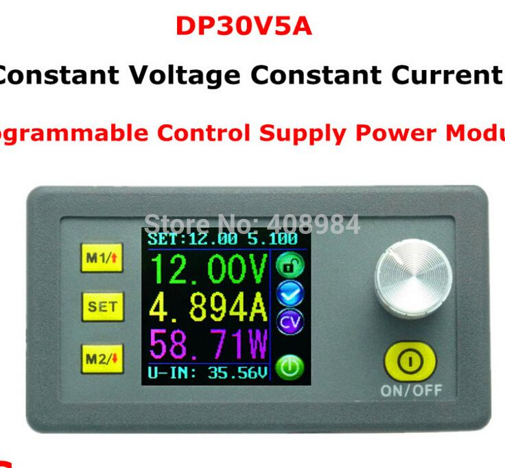 LCD Digital DP30V5A Fixed Voltage present Step-down Programmable converter Energy Provide Ammeter voltmeter Module