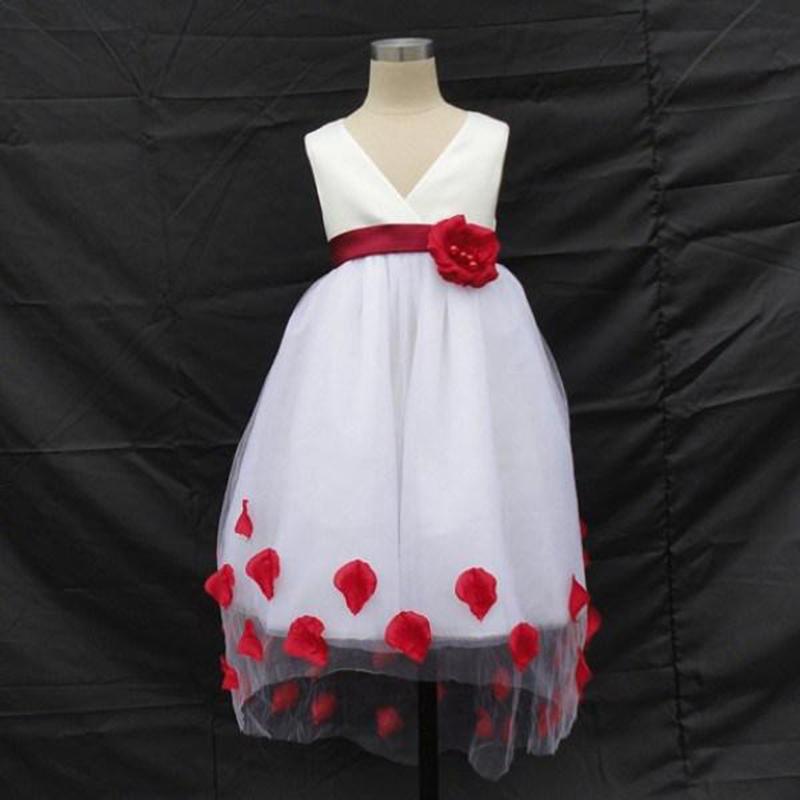 Vestido de Festa Curto com Renda Infantil