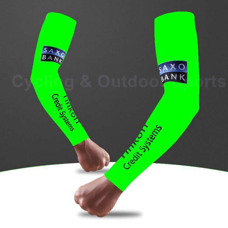 New 2015 Fluorescent Green Men's Bike Cycling Armwarmers Outdoor Bicycle Arm Sleeves Riding Cycling Accessories Breathable(China (Mainland))