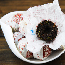 On Sale Ginseng Flower Flavor Pu Er Pu Er Tea Pu Erh Tea Mini Yunnan Puer