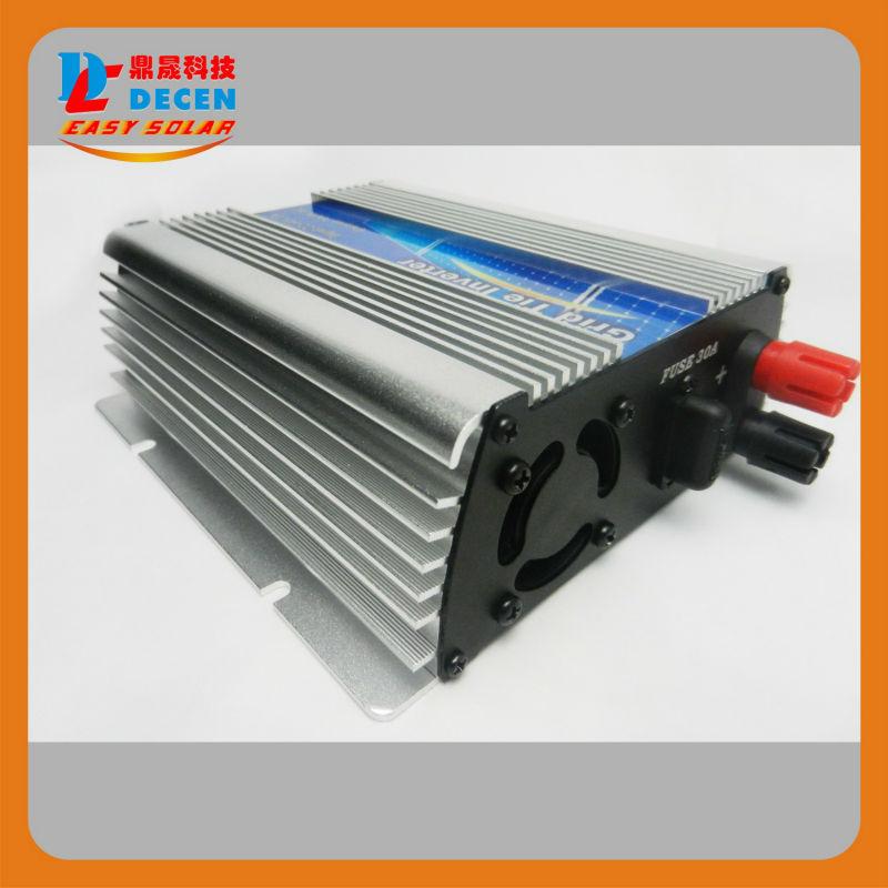 Фотография DECEN@  10.5-30Vdc 300W Solar Grid Tie Pure Sine Wave Power Inverter Output 90-140Vac,50Hz/60Hz, For Home Solar Energy System