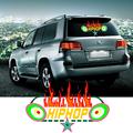 New 45 25 CM Car Sticker Colorful Led Sound Control Music Light Hiphop Pattern car Music