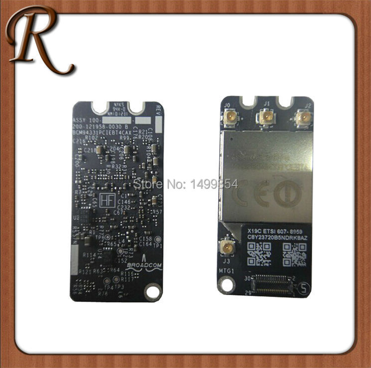 2012 Year 4.0 Wifi Bluetooth Network Card Air Port For Macbook Pro 13'' A1278 MC700 MC724 MD101 MD102 Free Shipping(China (Mainland))