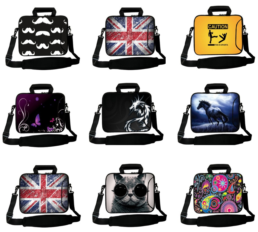 """Stylish Laptop Shoulder Bags For Men Casual Computer Messenger Bag For Apple iPad 9.7"""" 10"""" 10.1"""" 10.2"""" 10.5"""" Bag For Notebook PC(China (Mainland))"""