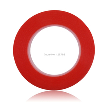 5mm*25m Red Double Sided Adhesive Tape Sticker High Strength Acrylic Gel Adhesive Double Sided Tape  For Phone LCD Screen(China (Mainland))