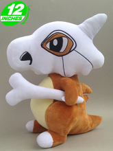 "pokemon Cubone plush doll 12"" Christmas gift toy new(China (Mainland))"