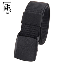 Buy LFMBAutomatic Buckle Nylon Belt Male Army Tactical Belt Mens Military Waist Canvas Belts Cummerbunds High Strap Fiber for $11.32 in AliExpress store