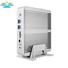 Fanless Barebone i5 Mini PC Windows 10 Broadwell Core i5 5200U i5 5250U i5 4258U 4K HTPC Optical+2*Nics+2*HDMI+300M Wifi(China (Mainland))