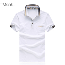 Men Polo Shirts Cotton Brand Summer Mens Solid Colors Homme Plus Size 4XL 5XL Sport Golf Shirt Breathable Dress Blouse White S21