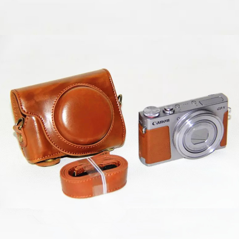New Higher quality Camera Case Bag for Canon G9X Camera With Strap(China (Mainland))