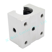 4pcs SBR12UU 12mm Linear Ball Bearing Block CNC Router linear guide for 3d printer Free shipping